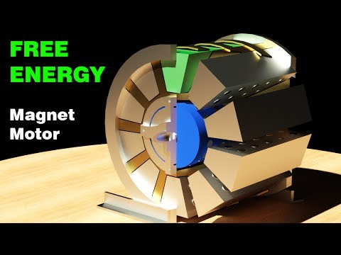 Free Energy Generator, Working Patent! Muammer Yildiz Magnet Motor, Detail design!!!