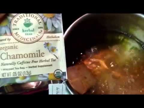 Pet Health Tip- Chamomile for Eye Infections and Allergies.