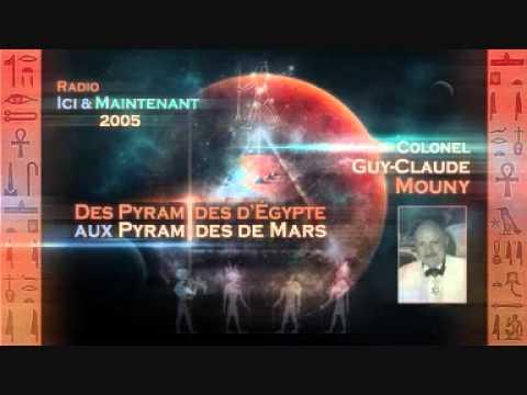 """Colonel Guy Mouny """"des pyramides d'Égypte aux pyramides de mars"""" interview radio"""