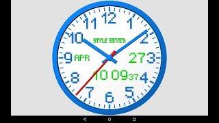 3D Analog Clock Live Wallpaper-7 screenshot 5