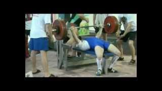 bench press 182,5 kg@75 Arkadiy Shalokha