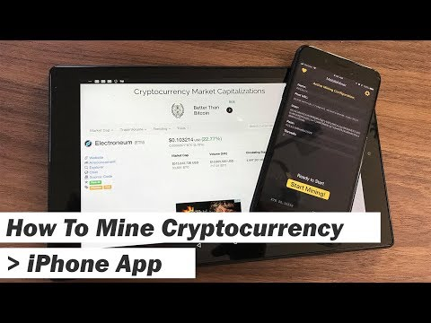 How To Mine Cryptocurrency Like Bitcoin On IPhone