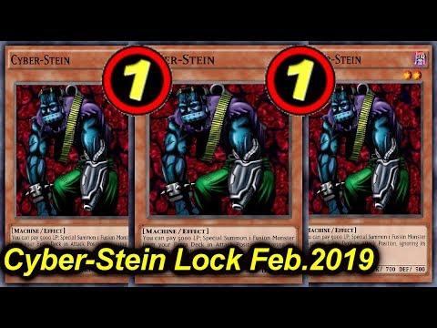 【YGOPRO】CYBER-STEIN LOCKDOWN Feb.2019 - New TCG banlist!!