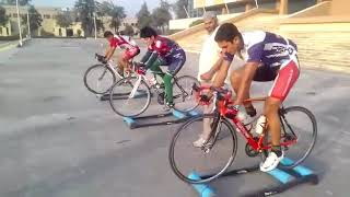 National Cycling Camp Islamabad Pakistan.