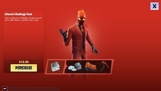 """How To Get The *New* """"INFERNO"""" Skin Pack in Fortnite Battle Royale Right NOW!!"""