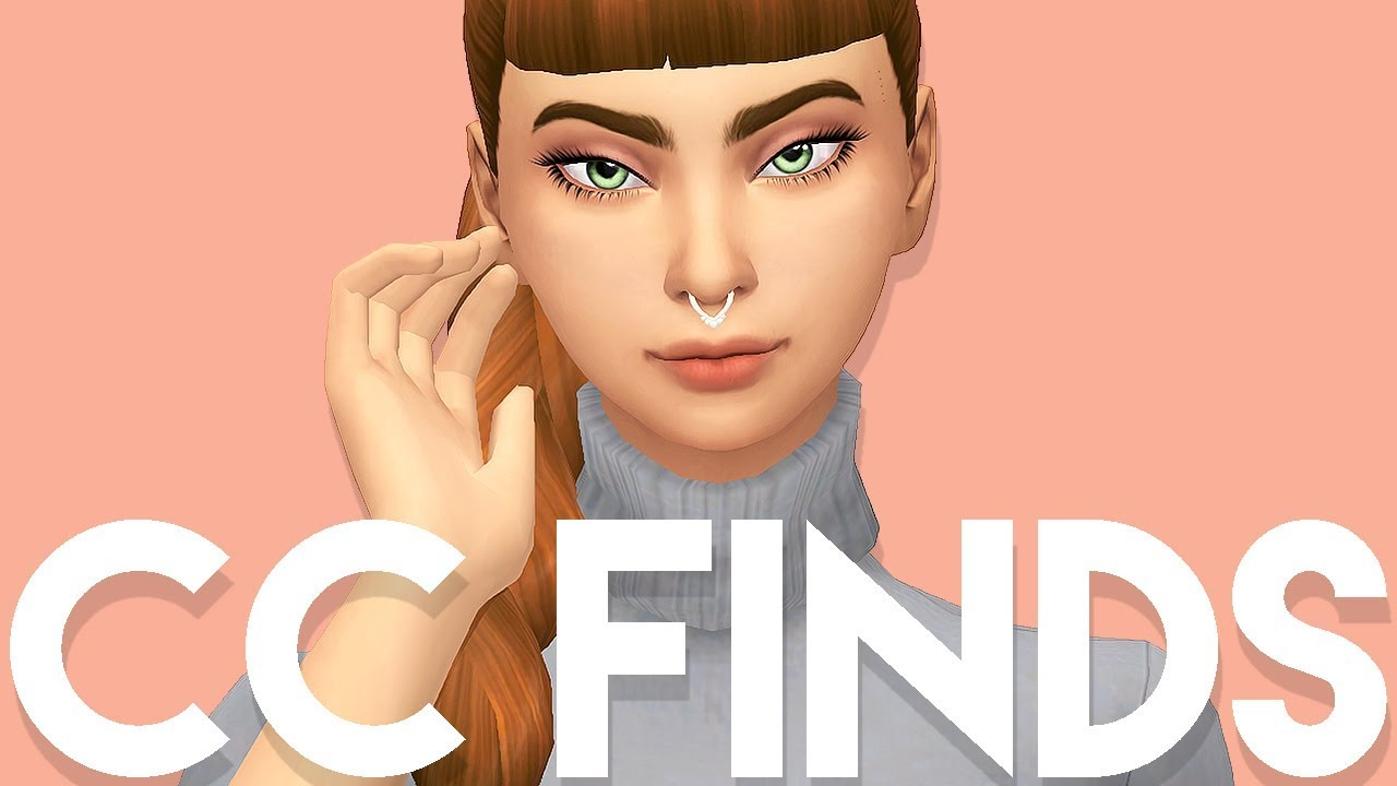 CC SHOPPING // ACCESSORIES, PIERCINGS & MORE // The Sims 4 Maxis Match