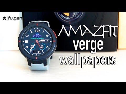 AmazFit Verge Wallpapers
