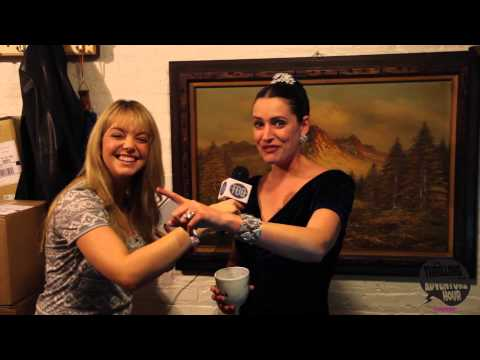 An Exclusive Interview with Paget Brewster Backstage at 'Thrilling Adventure Hour'!