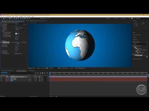 After Effects Tutorial: Basic 3D World (No Plugins)