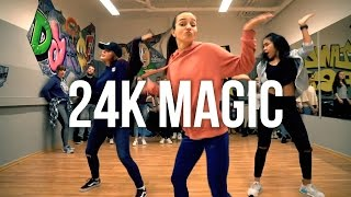 »24k MAGIC« Bruno Mars ★ Hip Hop Dance Class | Choreography TanzAlex