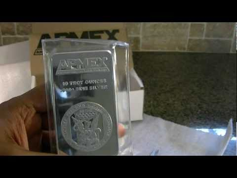 10 Oz Apmex Silver Bullion Youtube