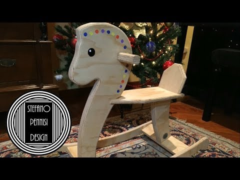 How To Make A Rocking Horse - Come Fare Un Cavallo A Dondolo - Fai Da Te