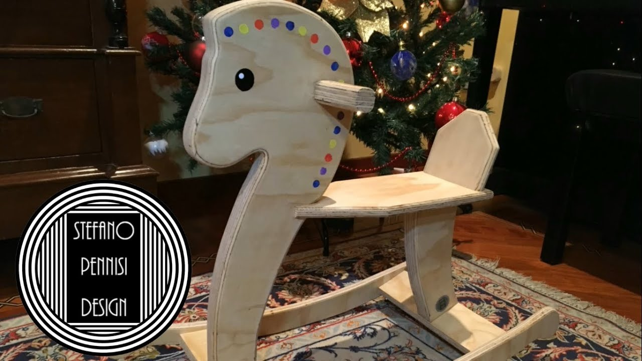 Come Costruire Un Cavallo A Dondolo In Legno.How To Make A Rocking Horse Come Fare Un Cavallo A Dondolo Fai Da Te
