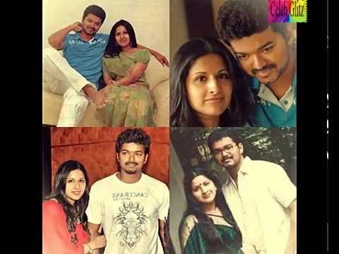 Tamil Actor Vijay Family Photos - image...