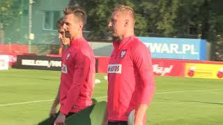 Pierwszy trening kadry prowadzony przez Jerzego Brzęczka