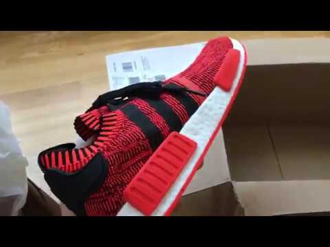 Adidas NMD R1 PK Red Apple 2.0 Unboxing - YouTube c5aba038e
