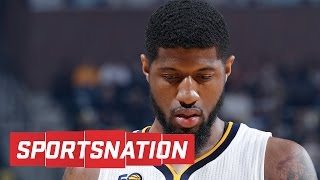 Should Paul George Be So Comfortable Talking To Lakers? | SportsNation | ESPN