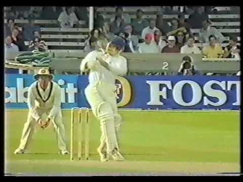 Graham Thorpe 114 vs Australia 1993 on debut
