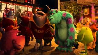 Monsters University   Clip Roar Omega Roar meet Sulley!   Disney Pixar HD