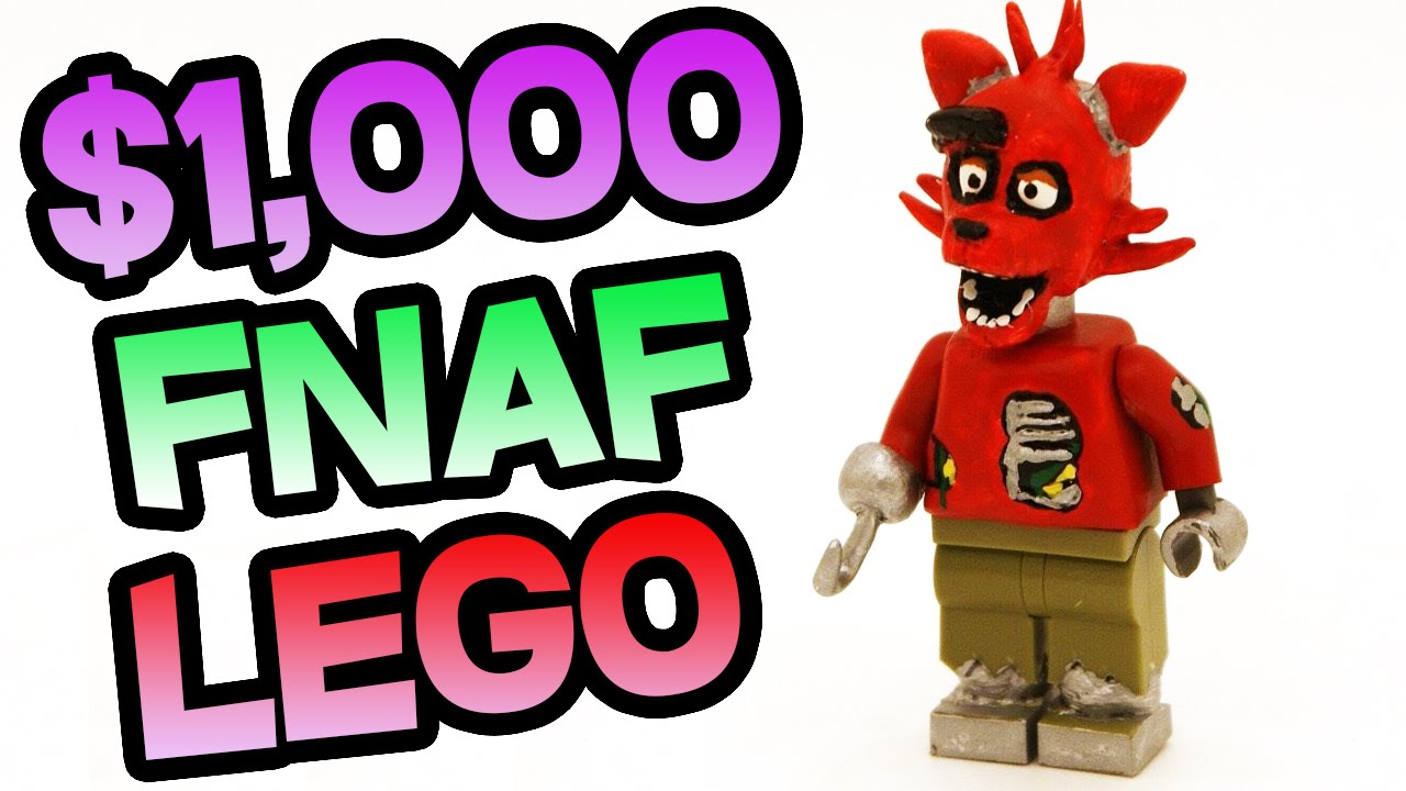 How to make your own five nights at freddys foxy plush - Fnaf Lego Sold For 1 000 Withered Toy Foxy Lego Five Nights At Freddy S Lego Youtube