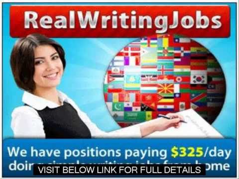 Legitimate Work From Home Jobs   Real Writing Jobs Review Guide