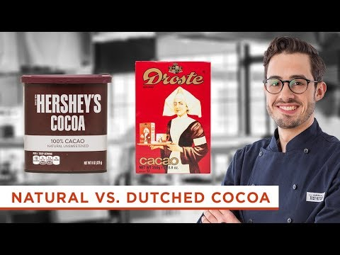 What's the Difference Between Dutched Processed Cocoa Powder and Natural Cocoa Powder?