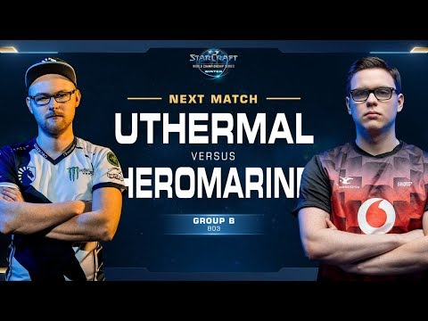 UThermal Vs HeroMarine TvT - Ro16 Group B - WCS Winter Europe