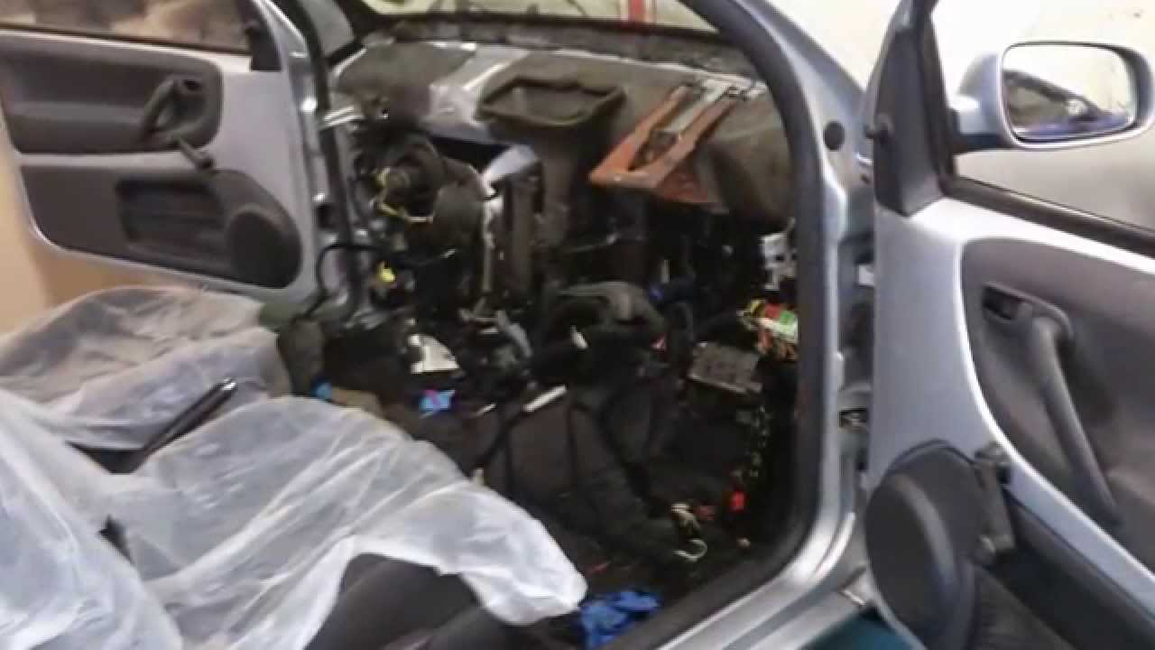 Vw Lupo Fire Damage And Wiring Repair Youtube Diagram