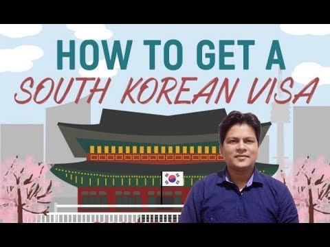 How to get a South Korean Visa