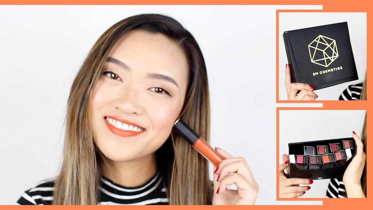 New Cosmetics Infinite Lip Cloud Swatches