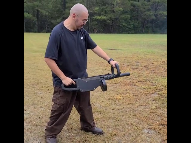 M11 Suppressed Chainsaw - ENTERTAINMENT ONLY!