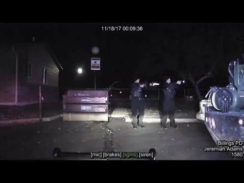 Dashboard video: Billings police fatally shoot man following pursuit
