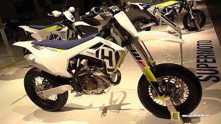 2018 Husqvarna FS 450 - Walkaround - 2017 EICMA Milan Motorcycle Exhibition