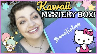 Unboxing a MYSTERY KAWAII BOX From JAPAN!!! | YumeTwins