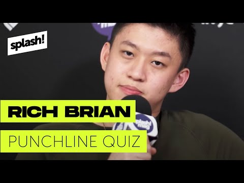 Rich Brian does the Punchline Quiz