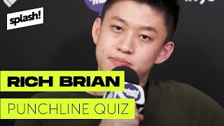 Punchline Quiz with Rich Brian