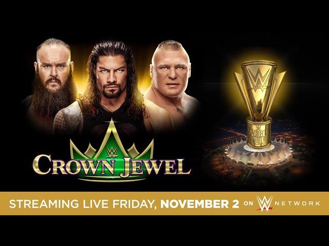 عرض WWE Crown Jewel سيقام في السعودية يوم ٢ نوفمبر
