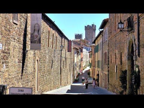 Montalcino, Tuscany (Toscana), Italy (Italia) [HD] (videoturysta)