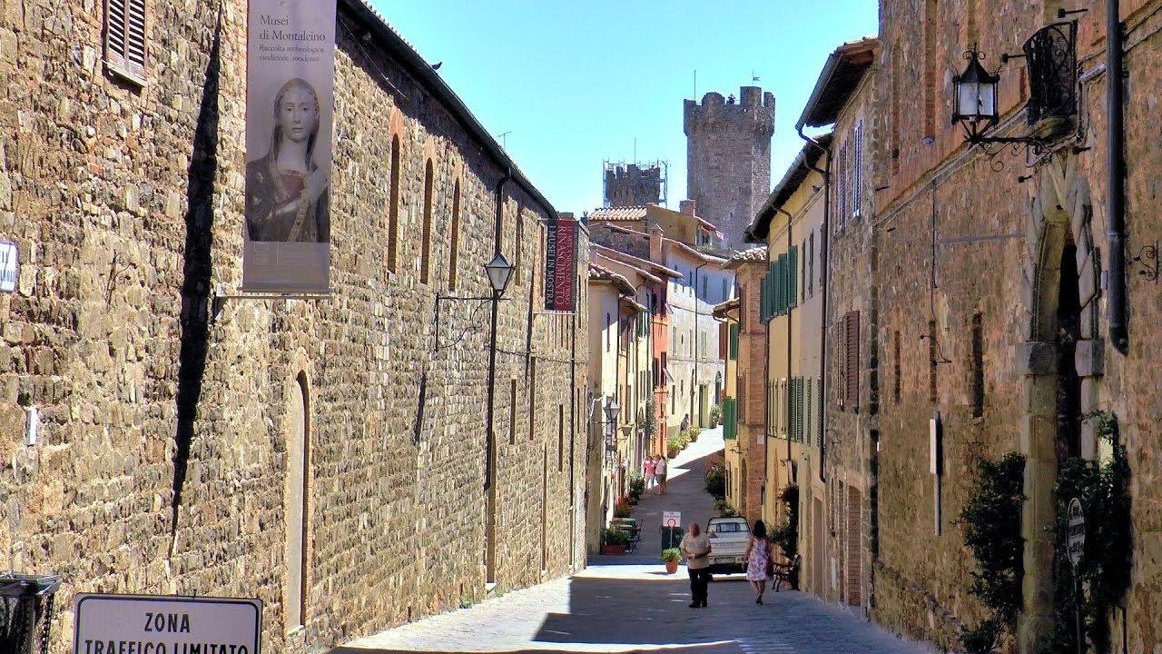 Montalcino Tuscany Toscana Italy Italia Hd Videoturysta Youtube