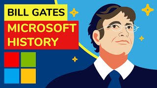 Bill Gates and Micr๐soft History- Animation