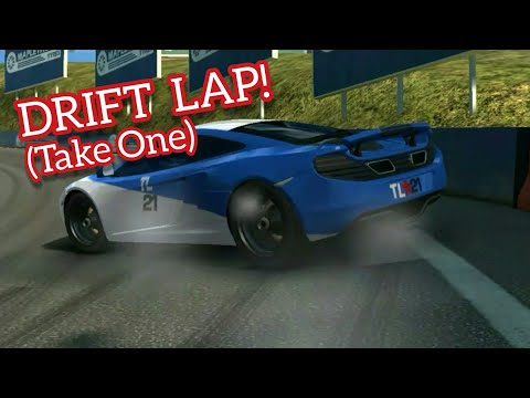 Real Racing 3 Mclaren Stunt Lap | RR3 GAMEPLAY