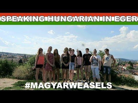 SPEAKING HUNGARIAN IN EGER 🇭🇺 MAGYAR WEASELS FAN MEET-UP | Hungary Vlog 10