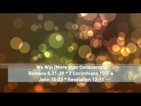 We Win (More than Conquerors)