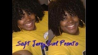 Soft Jerry Curl Pronto