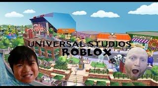 Visiting Springfield Universal Studios Roblox