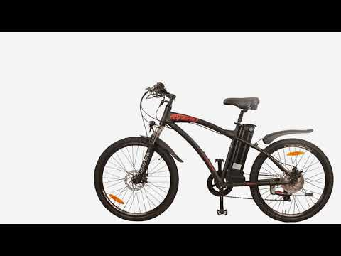 DJ Mountain Bike 500W 48V 13Ah Power Electric Bicycle, Samsung Lithium-Ion Battery, 7 S...