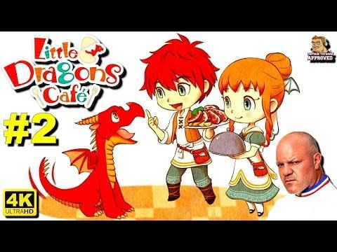 Little Dragons Café FR 4K. Je suis chef cuisinier pour dragon ! thumbnail