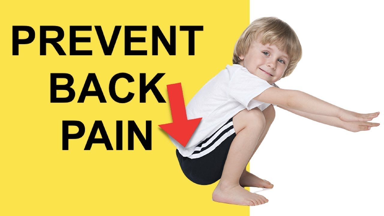 2 Exercises To Prevent Lower Back Pain Herniated Disc Relief Youtube