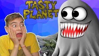 Съедобная ПЛАНЕТА Глазастик ест конфеты и мир веселый Игровой мультфильм для детей Tasty Planet