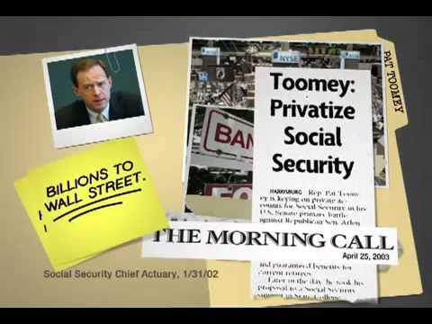 PA Sen DSCC Wall Street Ties